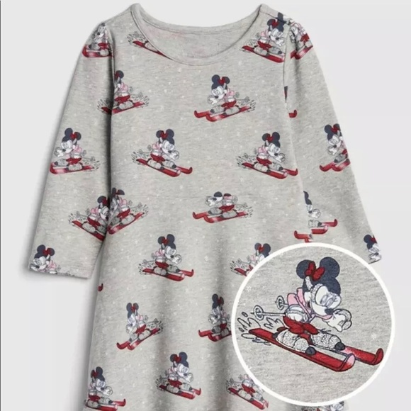 Baby Gap Disney Minnie Mouse Skiing Dress
